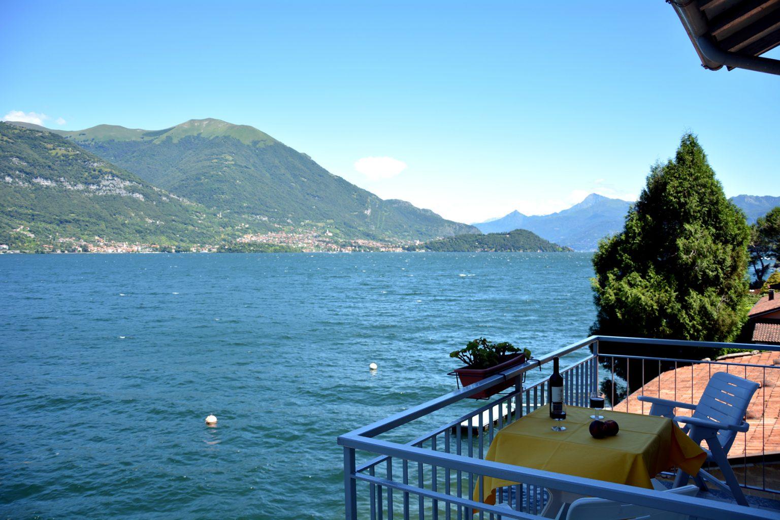 la traviata apartment bellagio balcony on the lake