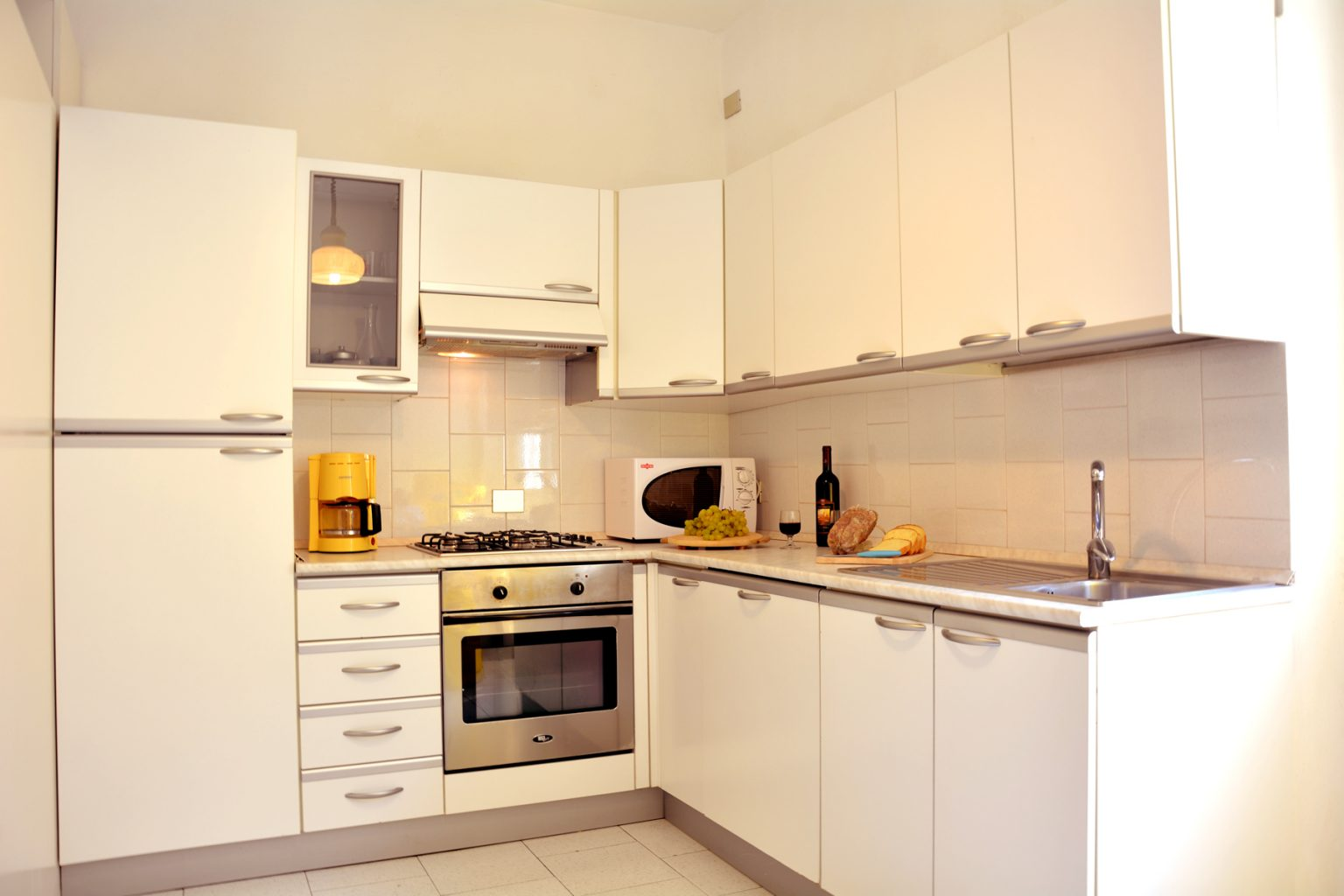 apartment bellagio aida kitchen