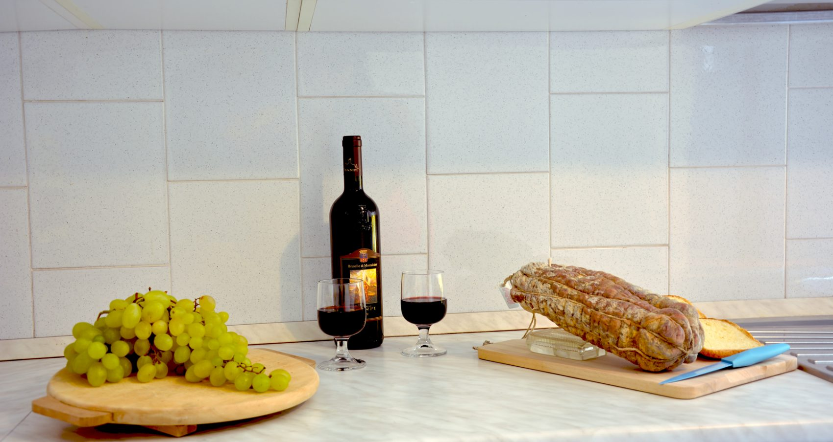 bellagio apartment aida food