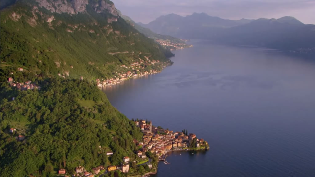 A fantastic view of Lake Como