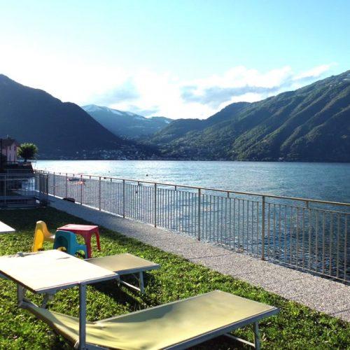 Italian Villa villa verdi private garden directly on the lake