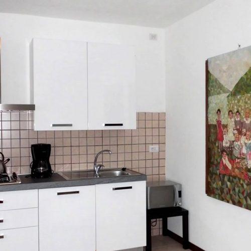 Lake Como beach rigoletto kitchen