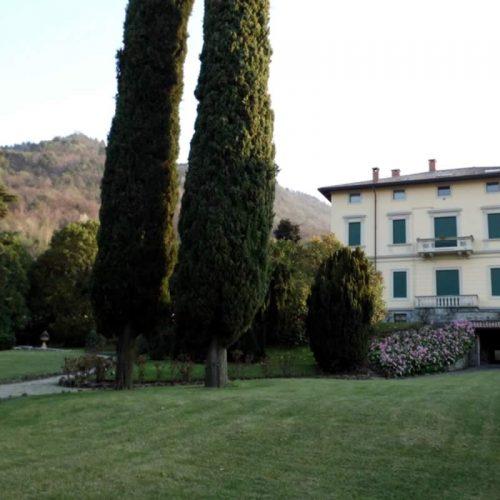 Villa in Bellagio historia villa