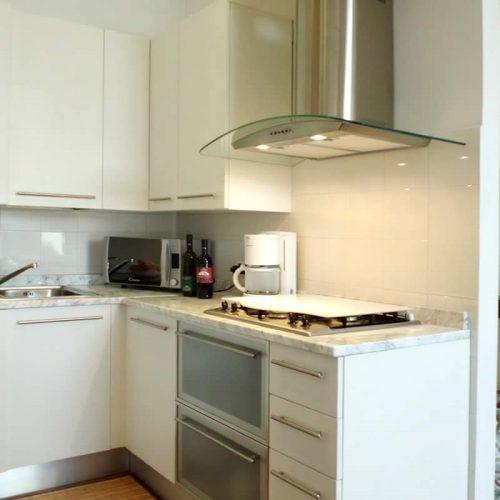 apartment bellagio historia kitchen
