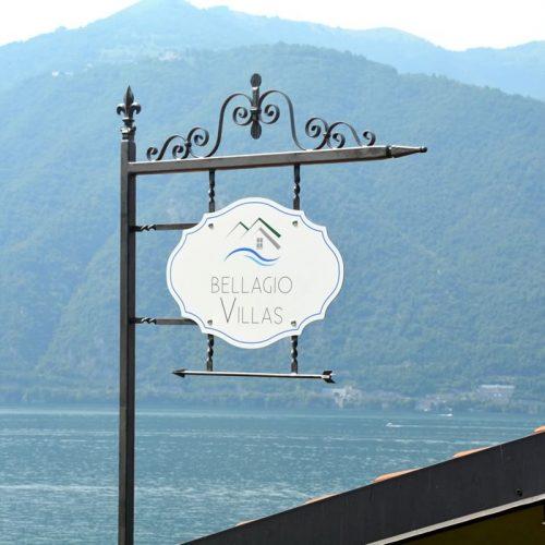 bellagio villas sign italian villa verdi