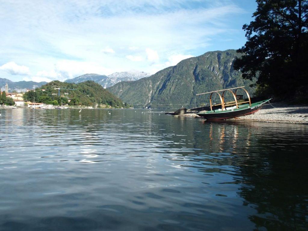 lake como house italy views shores small