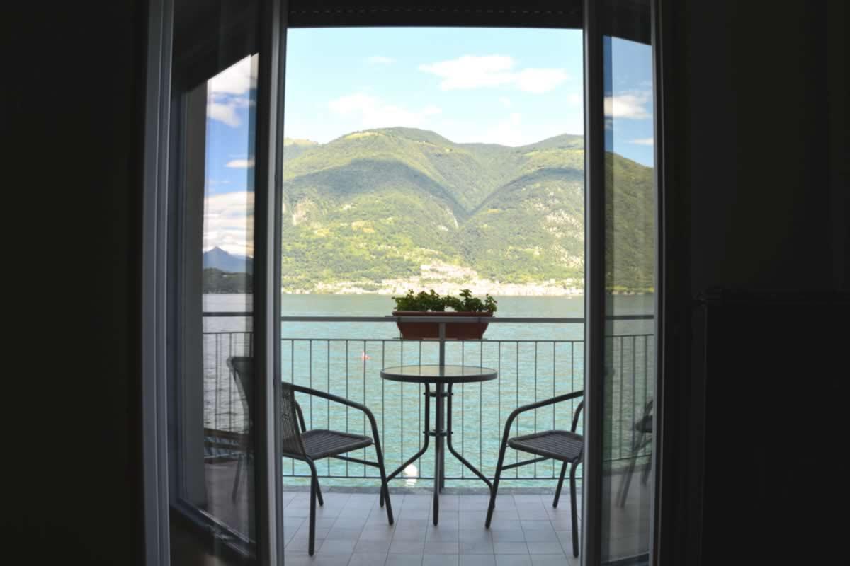 lake como property il trovatore balcony on the lake