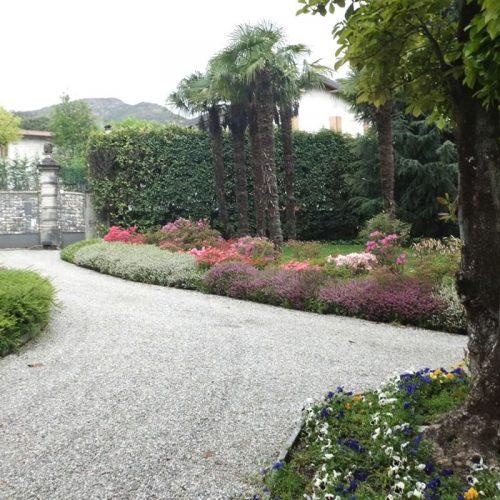 villa in bellagio morosini entrance park