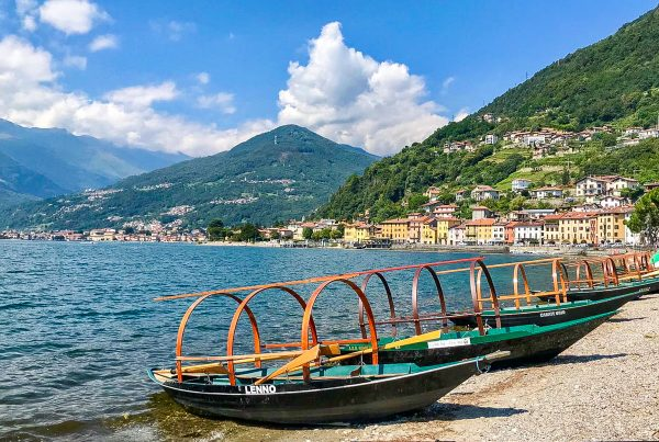 lucia lake como traditional boat bellagio villas